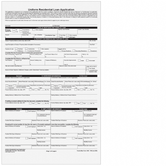 4089_7300BF  Loan Application Form Printable on uniform residential, sample small, african bank, template free, sample home, print out eminent finance, blank business,